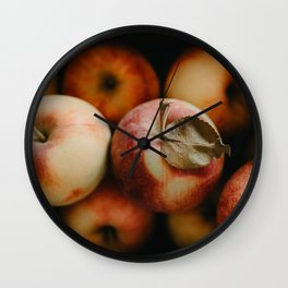 Apple Still Life Wall Clock