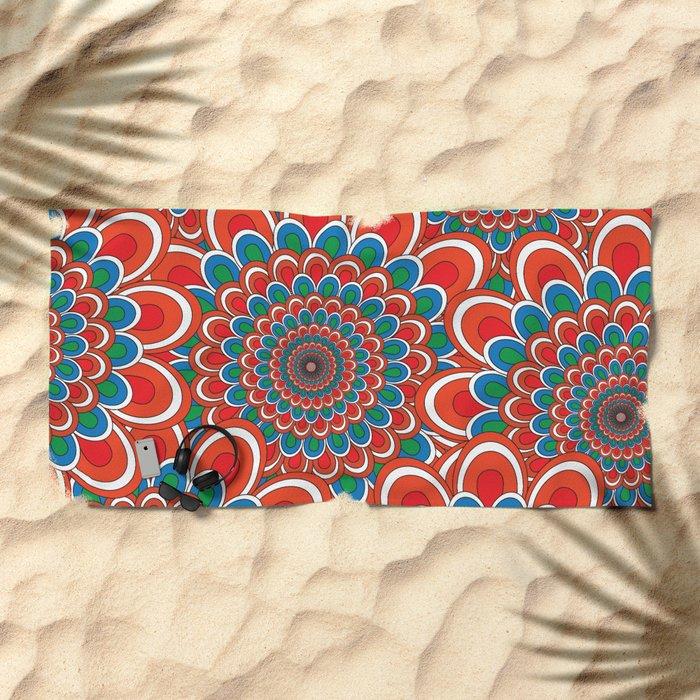 Pattern F Beach Towel