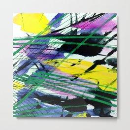 Abstract Joy 3C by Kathy Morton Stanion Metal Print