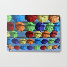 Colourful Protection Metal Print