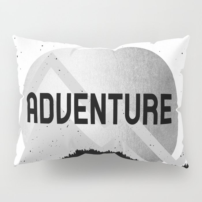 Adventure Silver Sunrise Pillow Sham