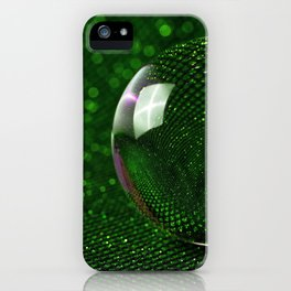 3D Crystal Glass Ball Sphere Ultra HD iPhone Case