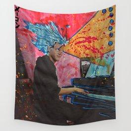 Super Sonata Saiyan Alex Plays Through the New Deluge Wall Tapestry