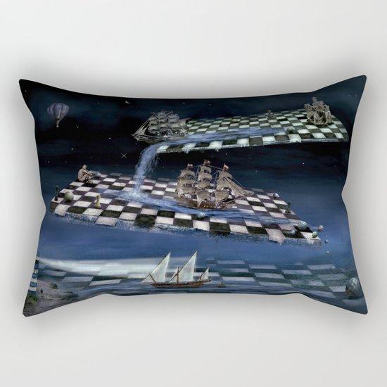 Turbulent journey time  Rectangular Pillow
