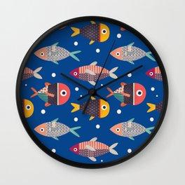 Peixes Wall Clock