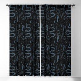 Mystical Collection-Black Blackout Curtain