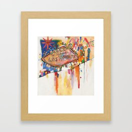 Las Angeles  Framed Art Print