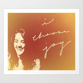 I Choose Joy #3 Art Print