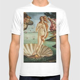 The Birth of Venus by Sandro Botticelli, 1445 T-shirt