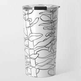 Jade Plant Print Travel Mug