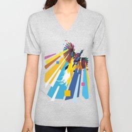 Bird of Paradise (Shirt) Unisex V-Neck