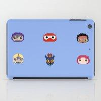 big hero 6 iPad Cases featuring Big Hero 6 by Alison V.
