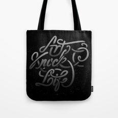 art knock life gradient Tote Bag
