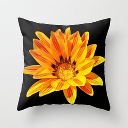 Floral Beauty in Close Up Throw Pillow