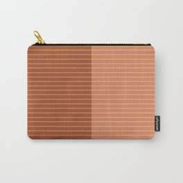 Color Block Lines XXXVIII Carry-All Pouch