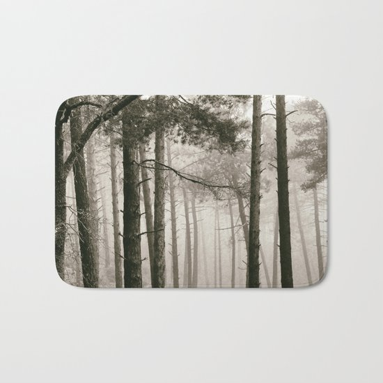 """""""Wandering"""". Into the woods.... Bath Mat"""