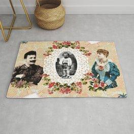 collage vintage Rug