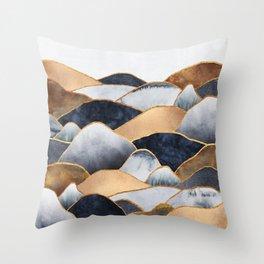 Hills 2 Throw Pillow
