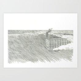Cheater 5 on a 45' Art Print
