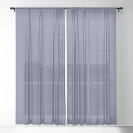 Dusty Purple, Solid Collection Sheer Curtain