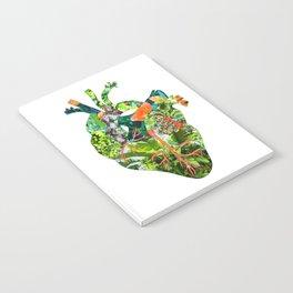Botanical Heart Notebook