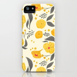 Marigold Mayhem iPhone Case