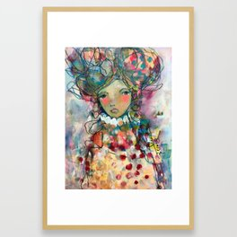 Beauty In Stillness Framed Art Print