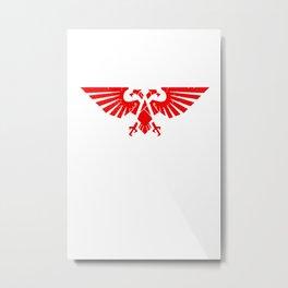 Warhammer 40K White Metal Print