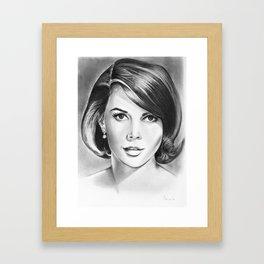 Natalie Wood Framed Art Print