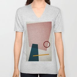 Shapes 01 Unisex V-Neck