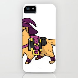 Wizard Magician Gift Warlock Illusionist iPhone Case