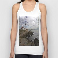 maine Tank Tops featuring Maine Splendor by Catherine1970
