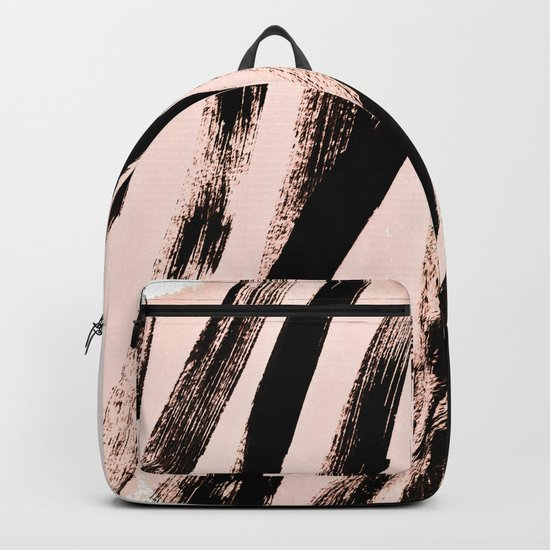 strokes on blush Backpack
