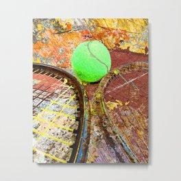 Tennis Art 3 Metal Print