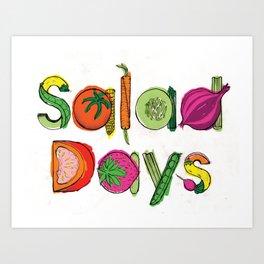 Salad Days Art Print