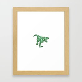 Jungles Of Isla Nublar Framed Art Print