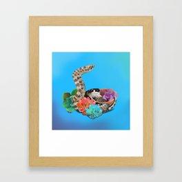 Precious Babe Framed Art Print