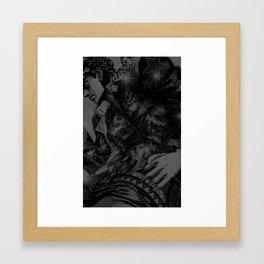 jjba jotao kujo iphone case Framed Art Print