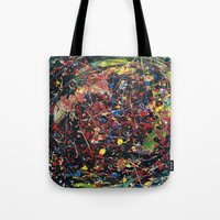 spawn Tote Bags featuring Minion Spawn by Christina Stavers