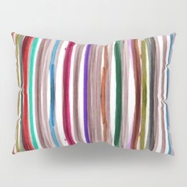 Rainbow Stripes 2 Pillow Sham