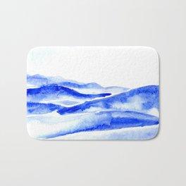 The Blue Ridge Bath Mat