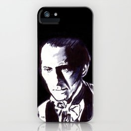 The Gentle Man of Horror iPhone Case