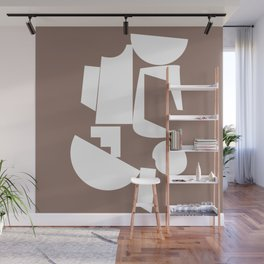 Shape study #17 - Inside Out Collection Wall Mural