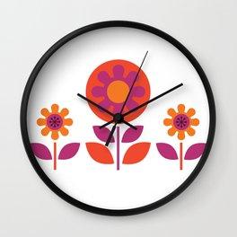 Hills & Daylesford Pink Wall Clock