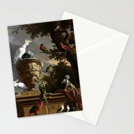 Melchior d'Hondecoeter The Menagerie Stationery Cards