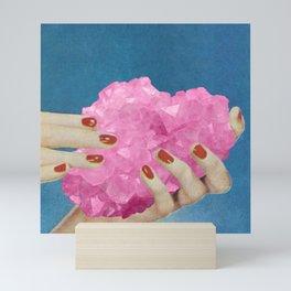 Rose Quartz Mini Art Print