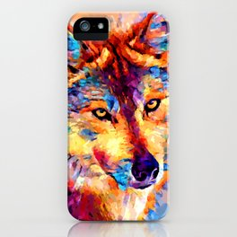 Wolf 5 iPhone Case