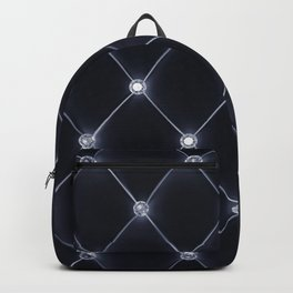 Velvet upholstery pattern Backpack