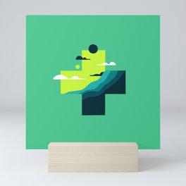 Pencil Scapes 22 Mini Art Print