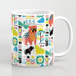 Scandinavian English Bulldog Coffee Mug
